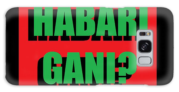 Habari Gani Galaxy Case
