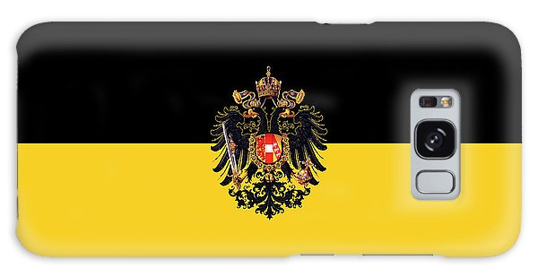 Habsburg Flag With Imperial Coat Of Arms 3 Galaxy Case
