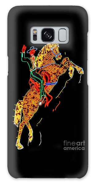 Hallway Galaxy Case - Hacienda Horse And Rider by Az Jackson
