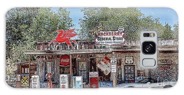 Hackberry General Store On Route 66, Arizona Galaxy Case