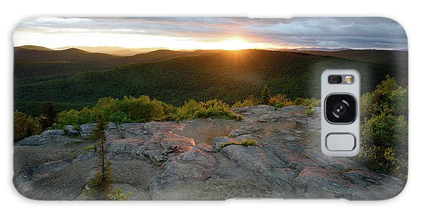 Hadley Mountain Sunset Galaxy Case