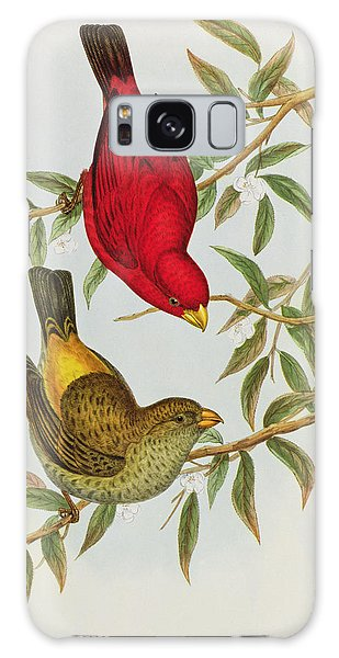 Haematospiza Sipahi Galaxy Case by John Gould