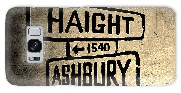 Haight Ashbury Galaxy Case by Dany Lison