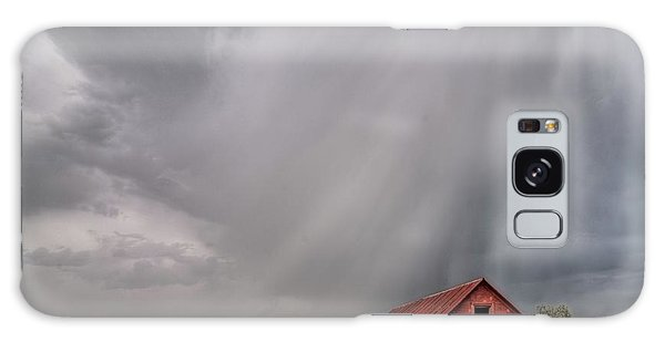 Hail Shaft And Montana Barn Galaxy Case