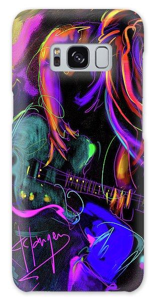 Hair Guitar 2 Galaxy Case