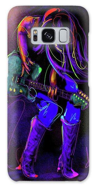 Hair Guitar Galaxy Case