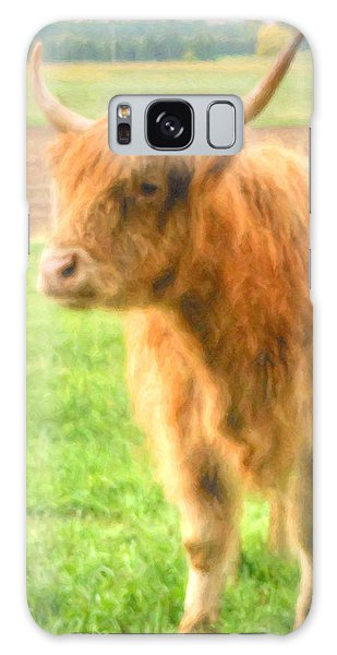 Hairy Coos Galaxy Case