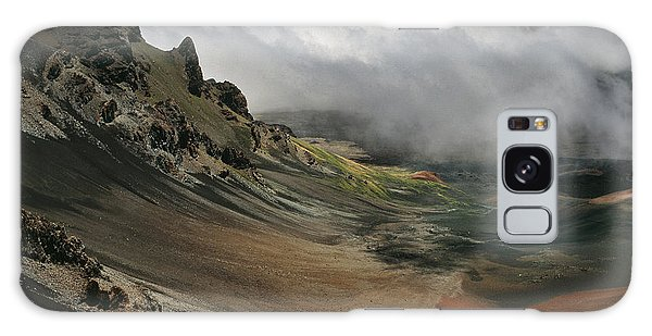 Galaxy Case - Haleakala Crater And Clouds by Bob Neiman