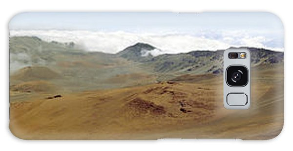 Haleakala Crater Panorama Galaxy Case