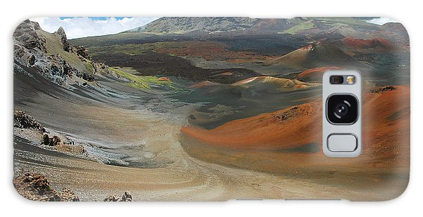 Haleakala Grandeur Galaxy Case by Stephen  Vecchiotti