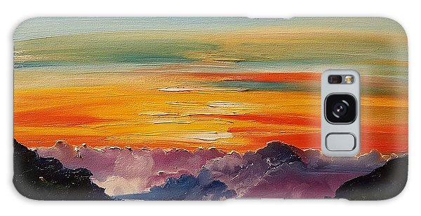 Haleakala Volcano Sunrise In Maui      101 Galaxy Case