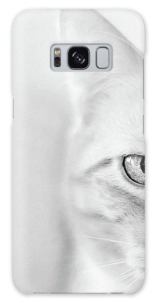 Half Cat Galaxy Case
