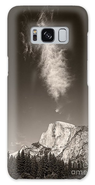 Half Dome And Cloud Galaxy Case