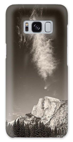 Half Dome And Cloud Galaxy Case