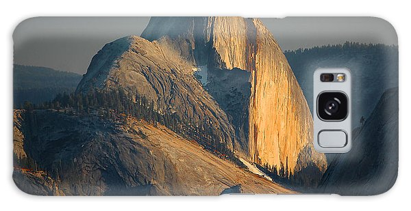 Half Dome At Sunset - Yosemite Galaxy Case