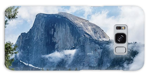 Half Dome In The Clouds Galaxy Case