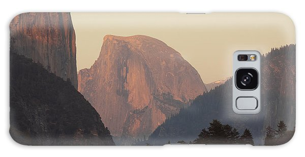 Half Dome Rising In Distance Galaxy Case by Max Allen