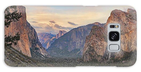 Yosemite Sunset Galaxy Case
