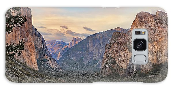 Yosemite Sunset Galaxy Case