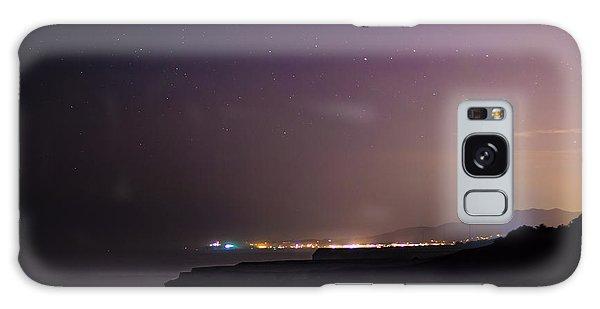 Half Moon Bay Aglow Galaxy Case
