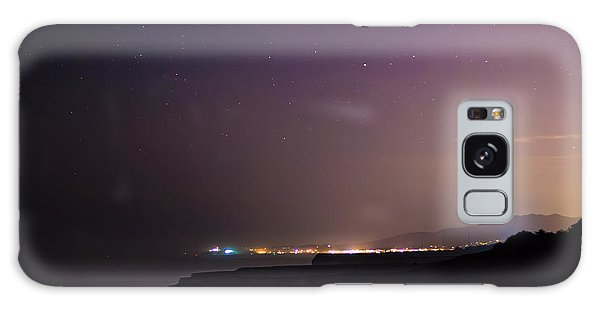 Half Moon Bay Aglow Galaxy Case