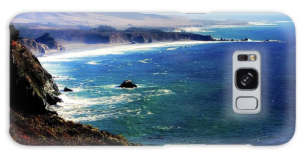 West Bay Galaxy Case - Half Moon Bay by Karen Wiles