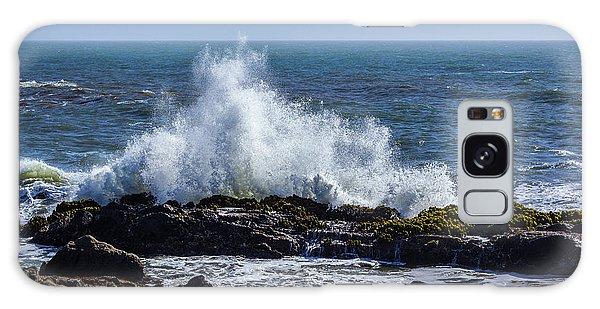 Wave Crashing On California Coast 1 Galaxy Case