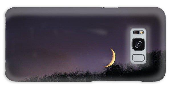 Half Moon Galaxy Case