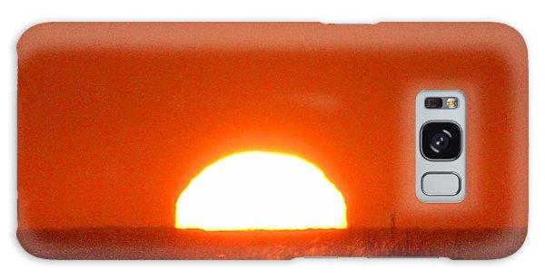Half Sun Galaxy Case