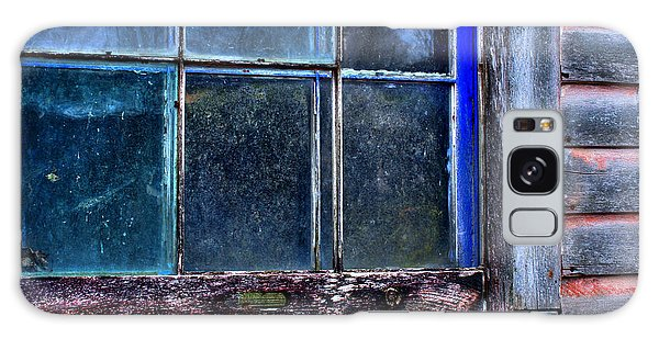 Half Window Colors In An Abandoned Building. Galaxy Case