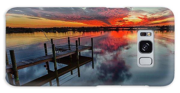 Halifax River Sunset Galaxy Case