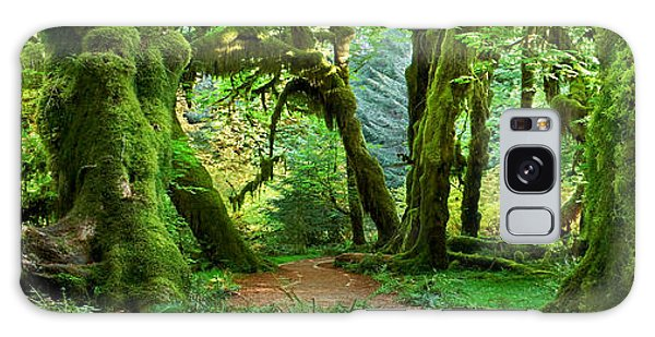 Olympic National Park Galaxy Case - Hall Of Mosses - Craigbill.com - Open Edition by Craig Bill