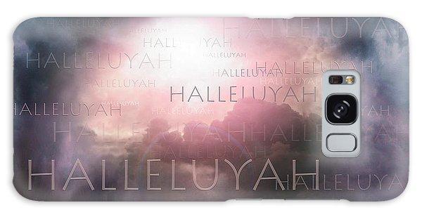 Halleluyah Galaxy Case by Bill Stephens