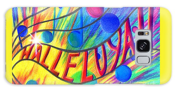 Halleluyah Galaxy Case