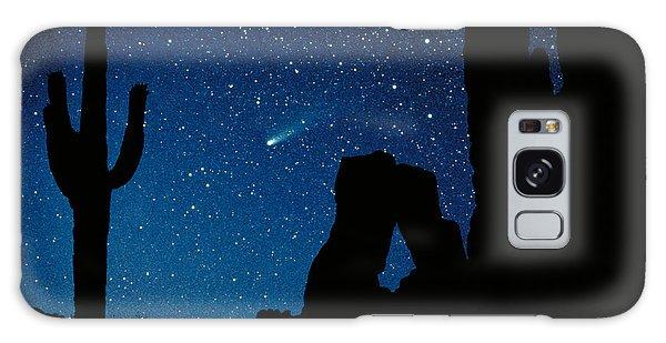 Desert Galaxy Case - Halley's Comet by Frank Zullo
