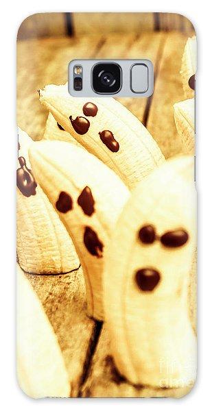 Halloween Banana Ghosts Galaxy Case