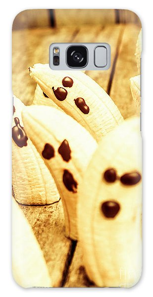 Halloween Banana Ghosts Galaxy Case