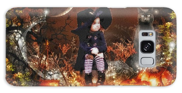 Halloween Girl Galaxy Case