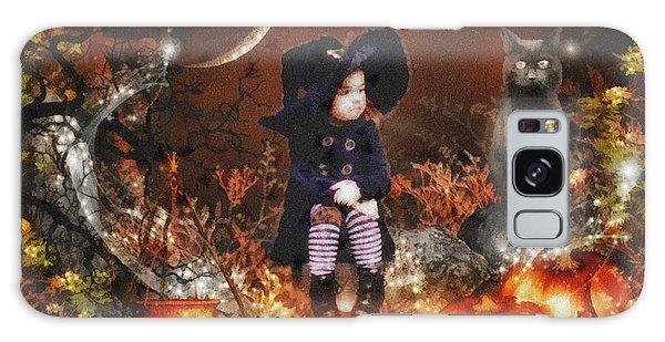 Halloween Girl Galaxy Case