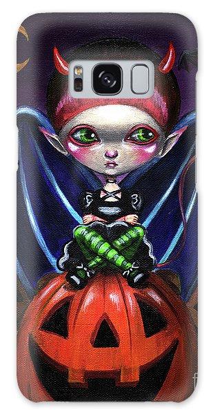Halloween Little Devil Galaxy Case