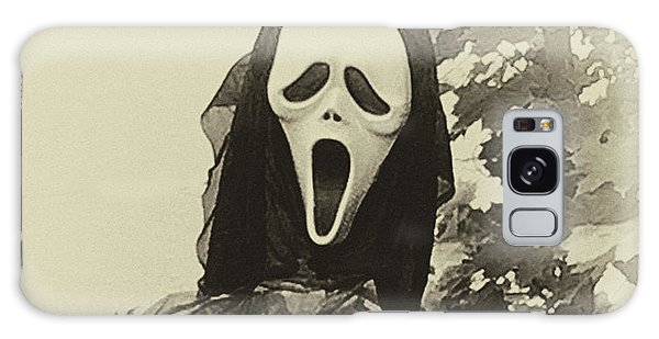 Halloween No 1 - The Scream  Galaxy Case