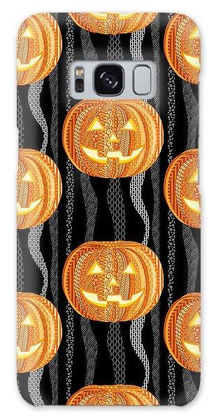Fall Galaxy Case - Halloween Pattern by Veronica Kusjen
