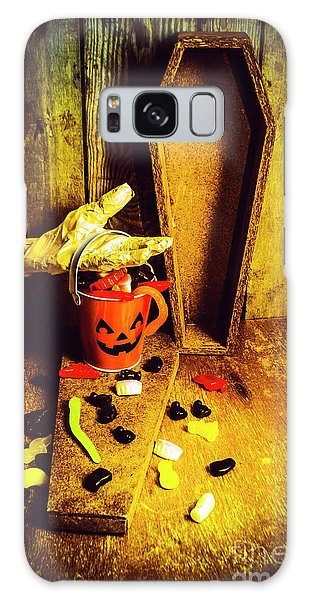 Decorative Galaxy Case - Halloween Trick Of Treats Background by Jorgo Photography - Wall Art Gallery