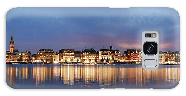 Hamburg Alster Panorama Galaxy Case