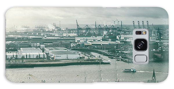 Hamburg Port  Galaxy Case