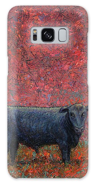 Bull Galaxy Case - Hamburger Sky by James W Johnson