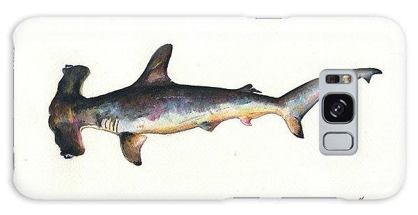 Hammerhead Shark Galaxy Case - Hammerhead Shark by Juan Bosco