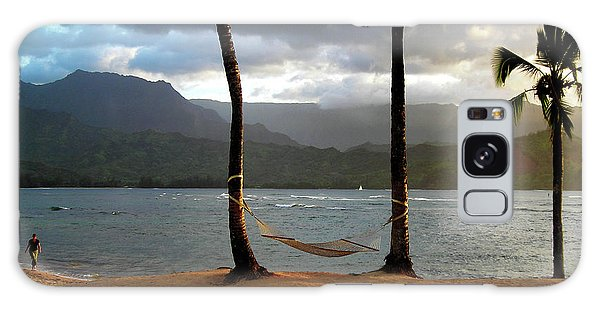 Hammock At Hanalei Bay Galaxy Case
