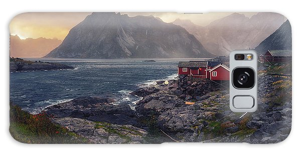 Galaxy Case featuring the photograph Hamnoy by James Billings