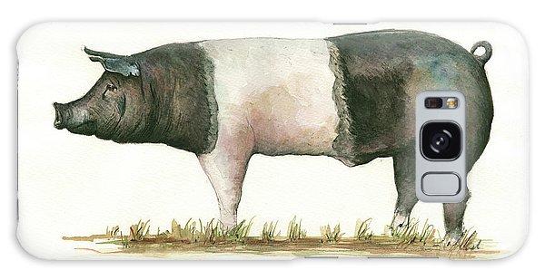 Pig Galaxy Case - Hampshire Pig by Juan Bosco